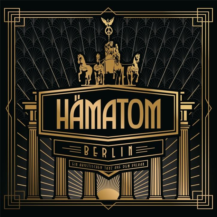 HÄMATOM Berlin (Ein akustischer Tanz auf dem Vulkan) CD Digipack 2021