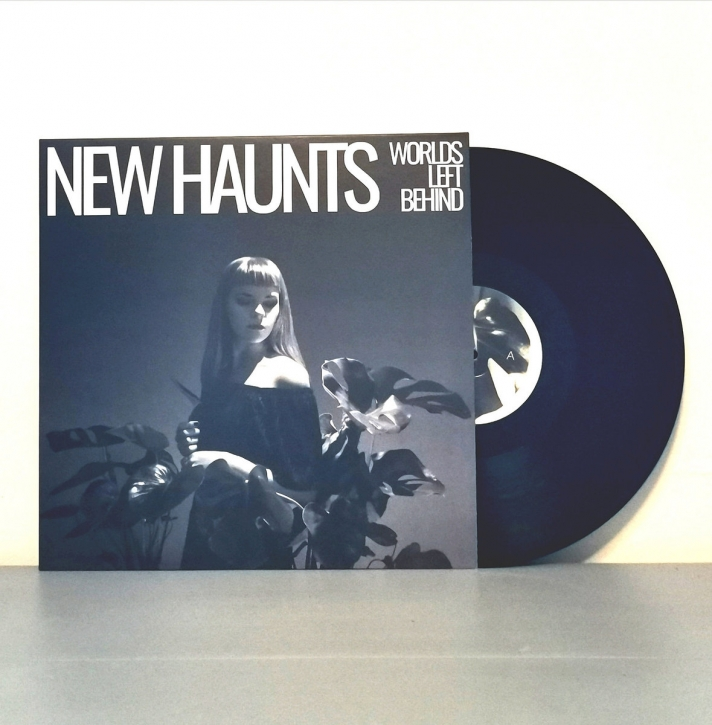 NEW HAUNTS Worlds left behind LIMITED LP BLACK VINYL 2020