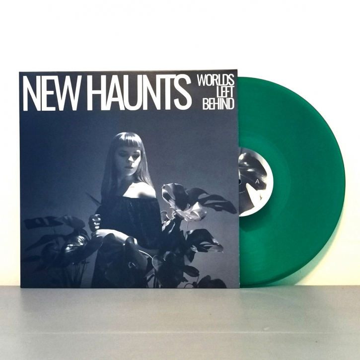 NEW HAUNTS Worlds left behind LIMITED LP GREEN VINYL 2020
