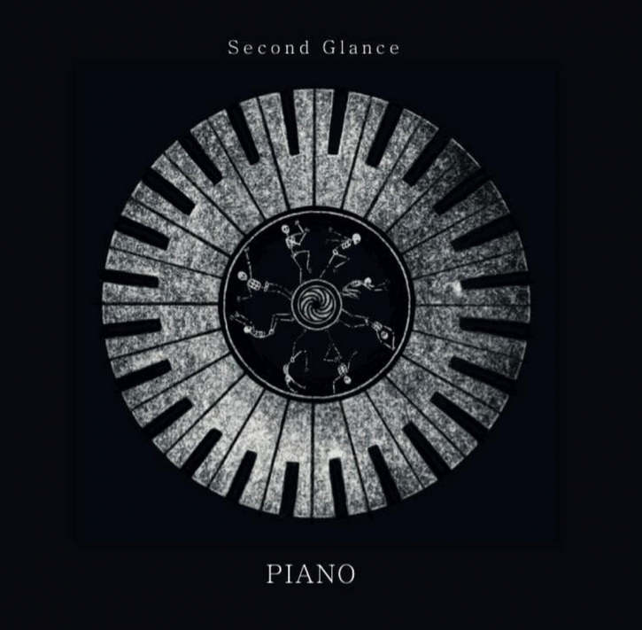 SECOND GLANCE Piano LIMITED LP BLACK VINYL 2020