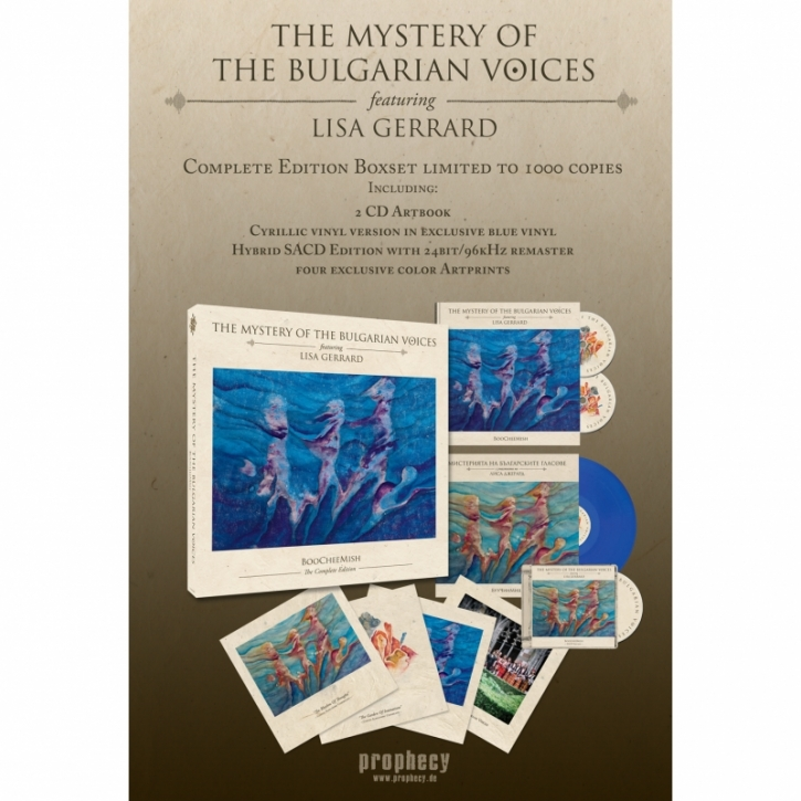 THE MYSTERY OF THE BULGARIAN VOICES feat. LISA GERRARD BooCheeMish COMPLETE BOX