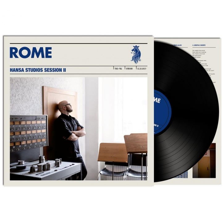 ROME Hansa Studios Session II LP VINYL 2021 LTD.500 (VÖ 30.04)