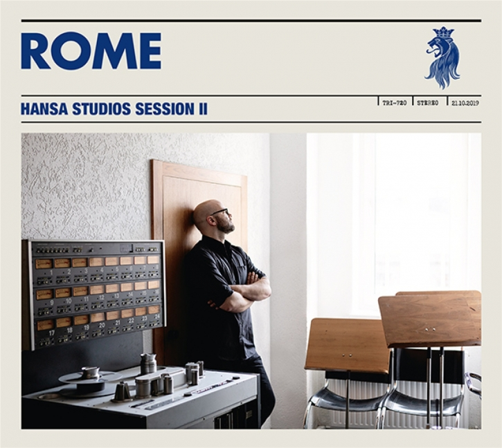 ROME Hansa Studios Session II CD Digipack 2021 (VÖ 30.04)