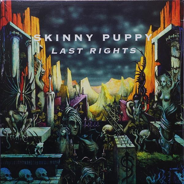 SKINNY PUPPY Last Rights LP VINYL 2020