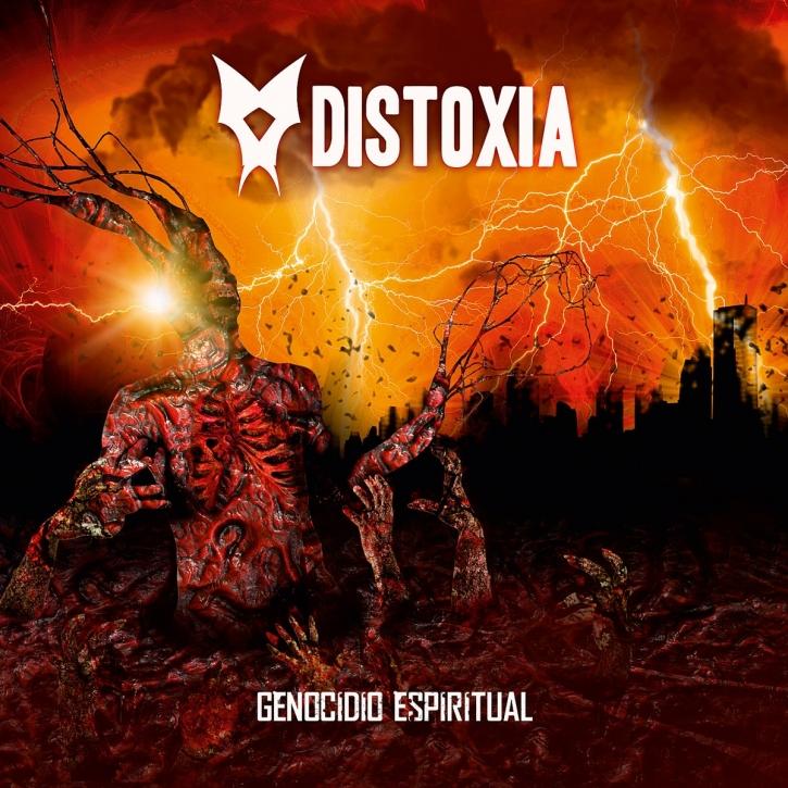 DISTOXIA Genocidio Espiritual CD Digipack 2021 LTD.100