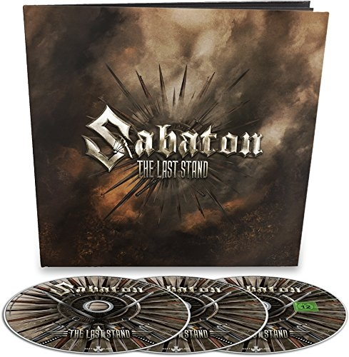 SABATON The Last Stand LIMITED 2CD+DVD EARBOOK 2016