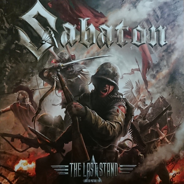 SABATON The Last Stand LIMITED 2LP PICTURE VINYL 2016