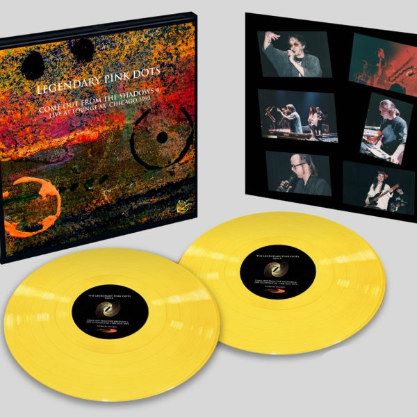 THE LEGENDARY PINK DOTS Live at Lounge Ax Chicago 1993 LIMITED 2LP VINYL BOX 2021