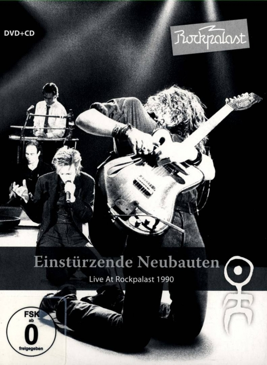 EINSTÜRZENDE NEUBAUTEN Live at Rockpalast DVD+CD Digipack 2012