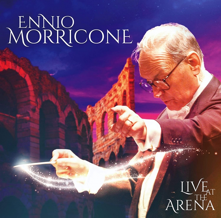 ENNIO MORRICONE Live at the Arena LIMITED 2LP VINYL 2021