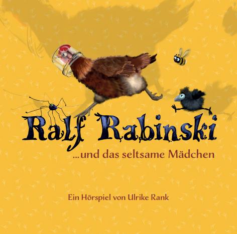 Ralf Rabinski ... und das seltsame Mädchen CD 2021 (Oswald Henke) (VÖ 28.05)
