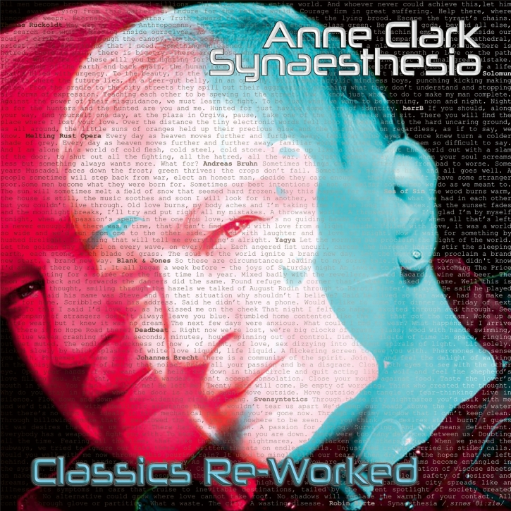 ANNE CLARK Synaesthesia - Classics Re-Worked 2LP WHITE VINYL 2021 (VÖ 28.05)