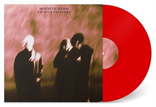 HOUSE OF HARM Vicious Pastimes LIMITED LP RED TRANSPARENT VINYL 2021
