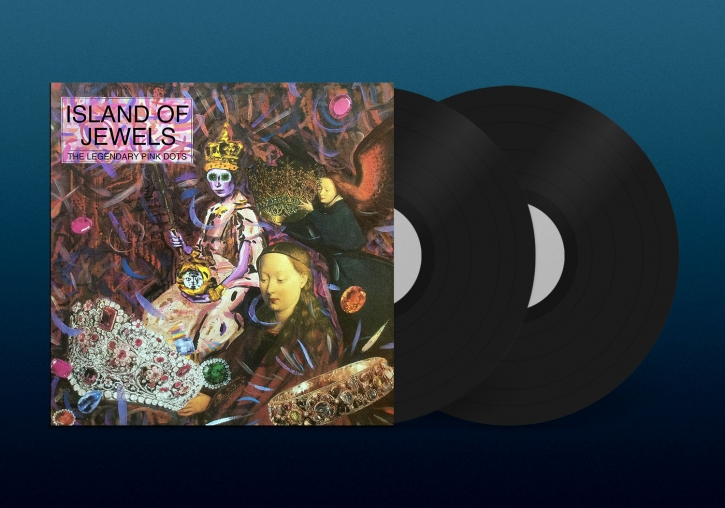 THE LEGENDARY PINK DOTS Island of Jewels LIMITED 2LP VINYL 2021