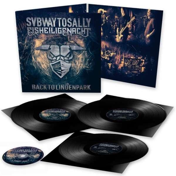 SUBWAY TO SALLY Eisheilige Nacht: Back To Lindenpark 3LP VINYL + DVD 2021