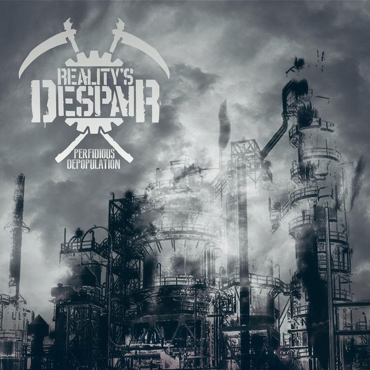 REALITY'S DESPAIR Perfidious Depopulation CD Digipack 2021 LTD.100