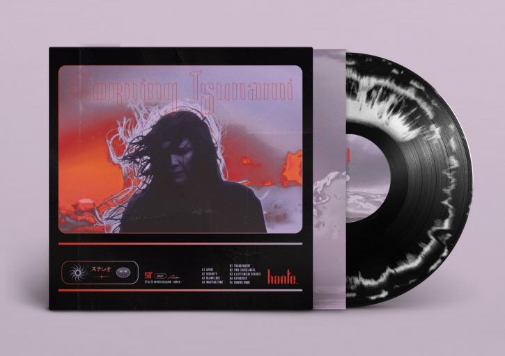 HANTE. Morning Tsunami [limited BLACK and WHITE] LP VINYL 2021 (VÖ 09.07)