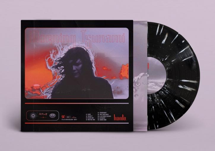 HANTE. Morning Tsunami [limited BLACK with WHITE Splatters] LP VINYL 2021 (VÖ 09.07)