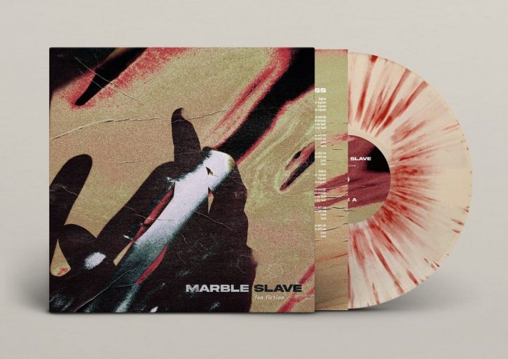 MARBLE SLAVE Fan Fiction [limited CLEAR with OXBLOOD Splatters] LP VINYL 2021 (VÖ 11.06)