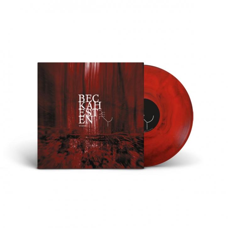 BECKAHESTEN Tydor LIMITED LP RED & BLACK MARBLE VINYL 2021