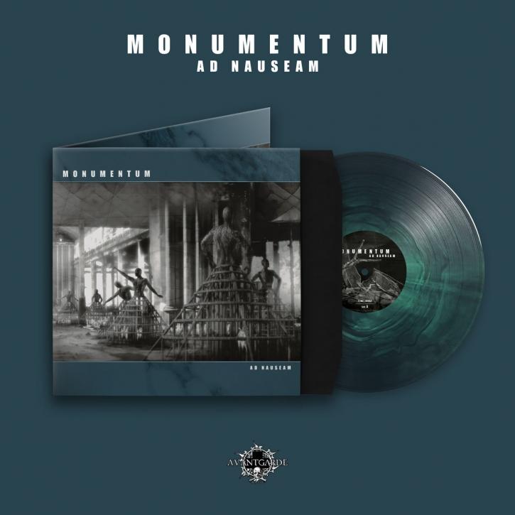 MONUMENTUM Ad Nauseam LIMITED LP GREEN / Black VINYL 2021