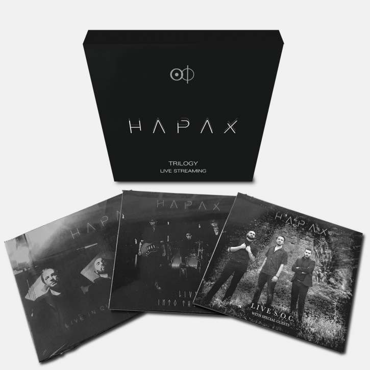 HAPAX Trilogy Live Streaming LIMITED 3CD BOX 2021