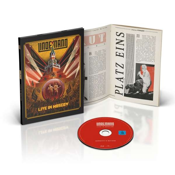 LINDEMANN Live In Moscow BLU-RAY 2021 (RAMMSTEIN)