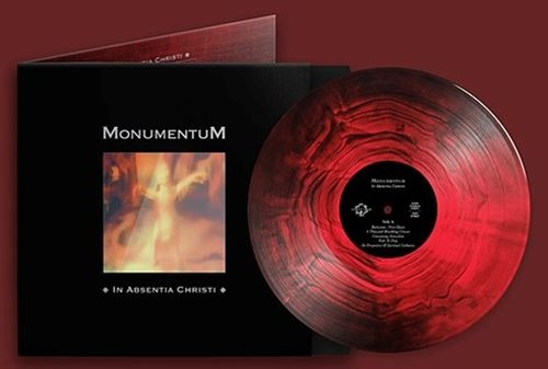 MONUMENTUM In Absentia Christi LIMITED LP RED / Black Marbled VINYL 2020