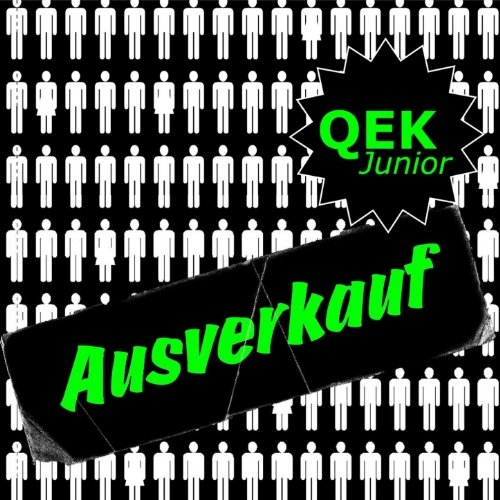 QEK JUNIOR Ausverkauf LIMITED BLACK LP VINYL 2021