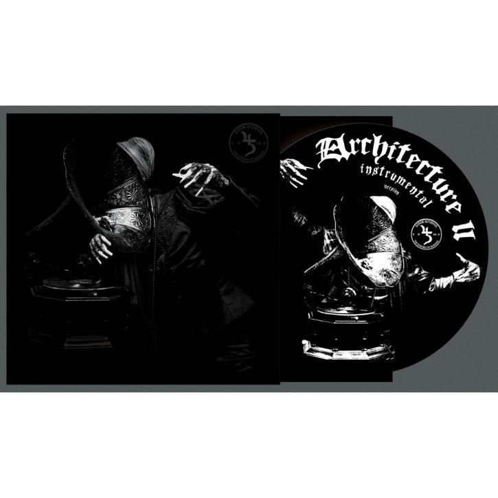 "SOPOR AETERNUS Architecture II (Instrumental Remastered) LIMITED 12"" SCREEN PRINTED VINYL 2021"