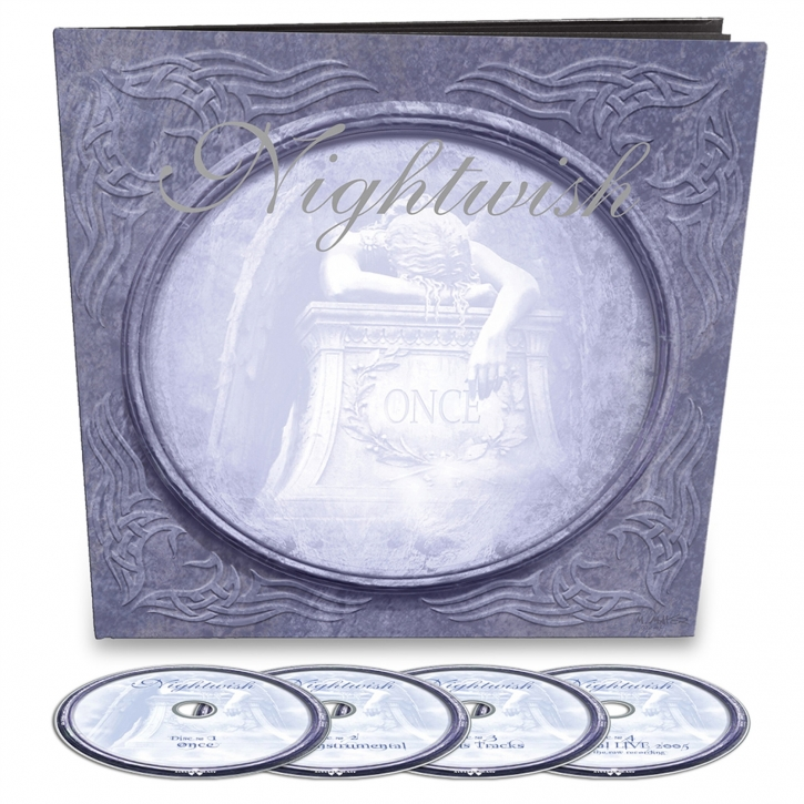 NIGHTWISH Once (Remastered) 4CD Earbook 2021 (VÖ 06.08)