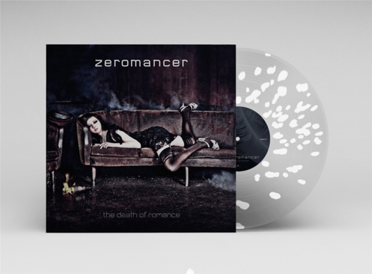 ZEROMANCER The Death Of Romance LP Pearl Necklace Splatter VINYL 2021