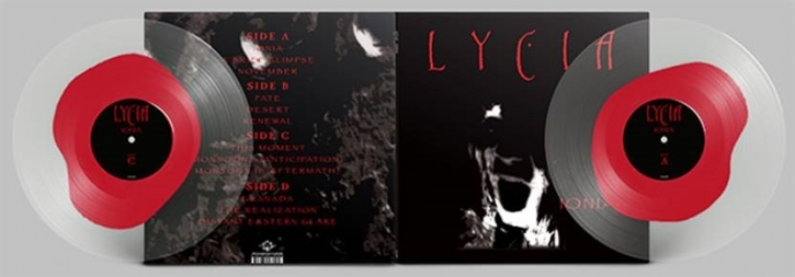 LYCIA Ionia [RED in Ultra CLEAR] LIMITED 2LP VINYL 2021