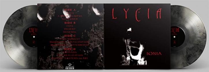 LYCIA Ionia [GREY & BLACK Galaxy] LIMITED 2LP VINYL 2021