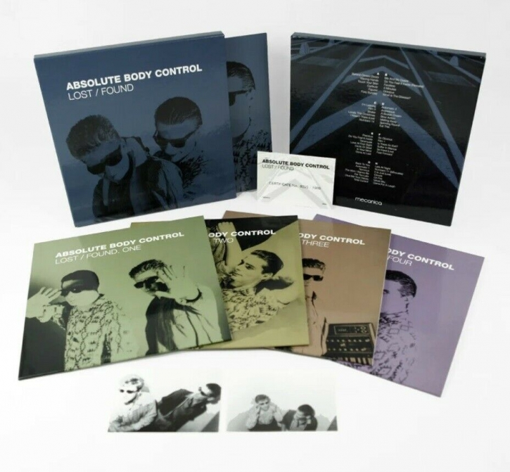 ABSOLUTE BODY CONTROL Lost / Found LIMITED 4LP-BOX 2021