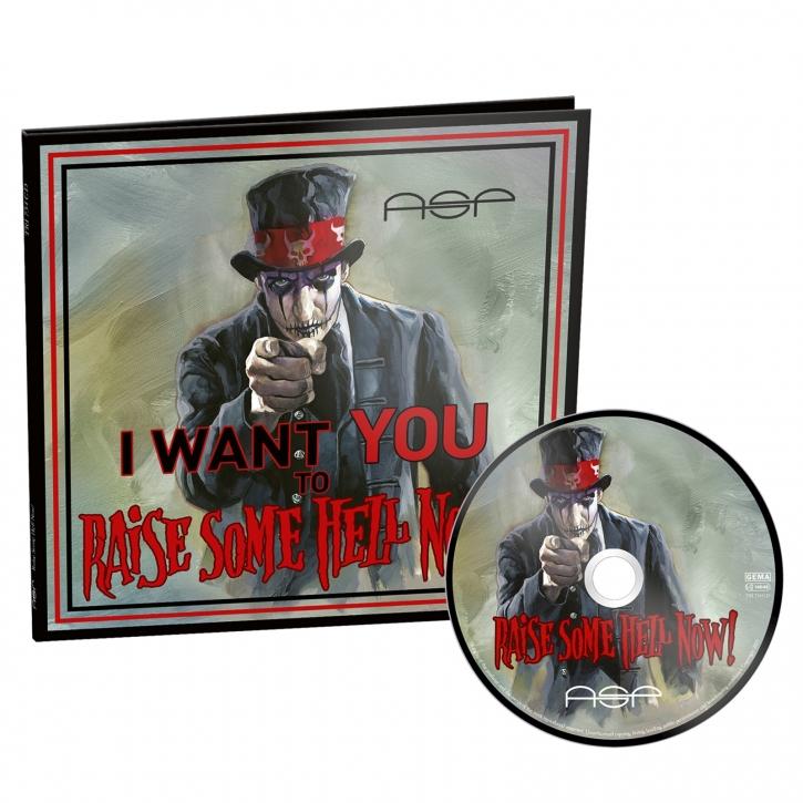 ASP Raise Some Hell Now! CD Digifile im Sonderformat 2021 LTD.999 (VÖ 01.10)