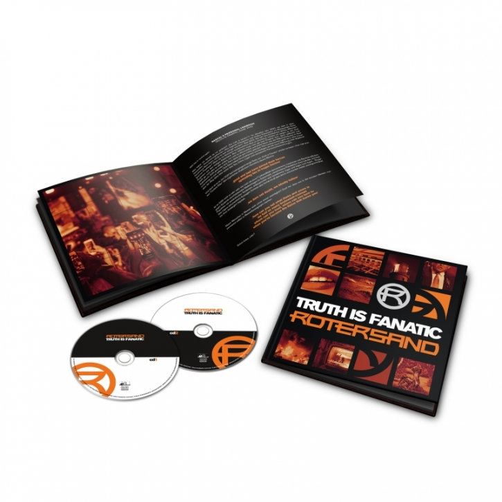 ROTERSAND Truth Is Fanatic LIMITED 2CD+BUCH 2021 (VÖ 29.10)