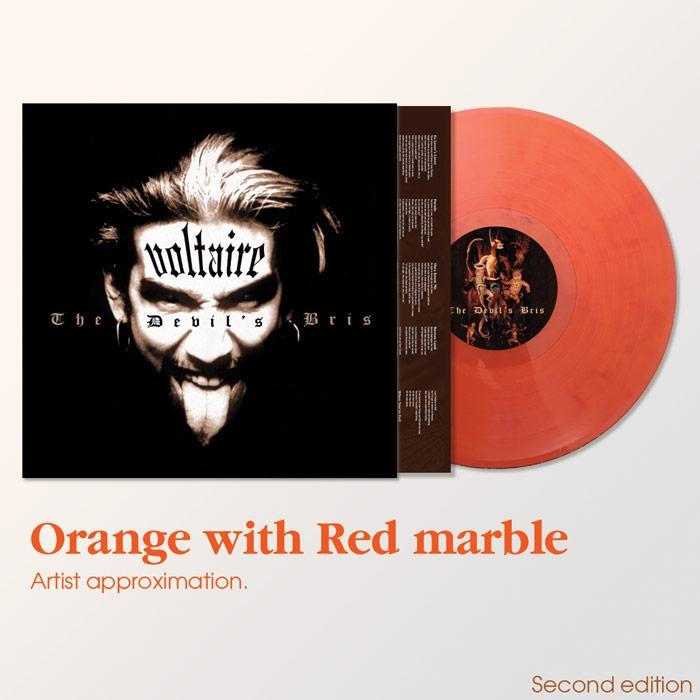 AURELIO VOLTAIRE The Devil's Bris (2nd pressing) LP VINYL 2021
