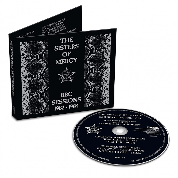 THE SISTERS OF MERCY BBC Sessions 1982-1984 CD Digipack 2021