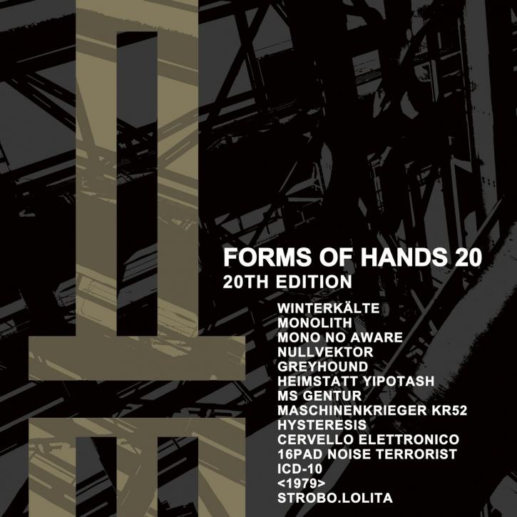 FORMS OF HANDS 20 - 20th Edition CD Digipack 2021 LTD.1000 Monolith WINTERKÄLTE
