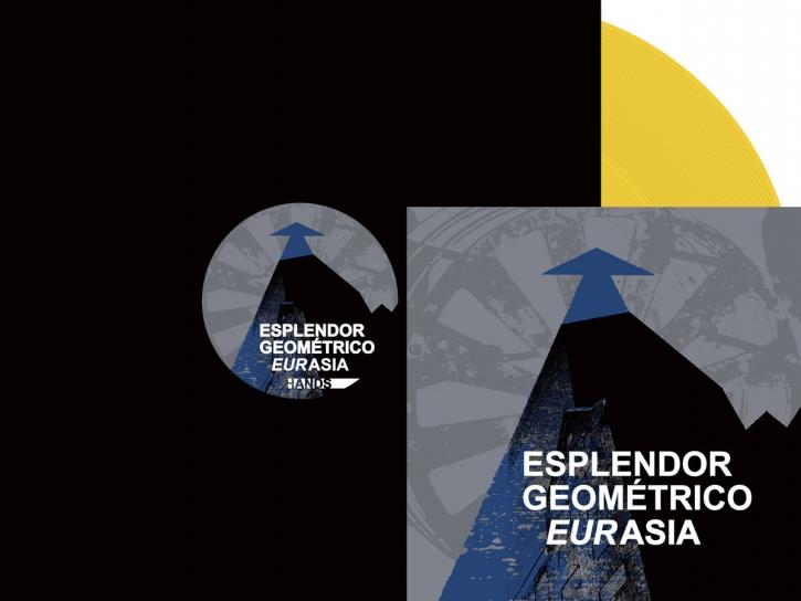 "ESPLENDOR GEOMETRICO Eurasia LIMITED 12"" YELLOW VINYL 2021"