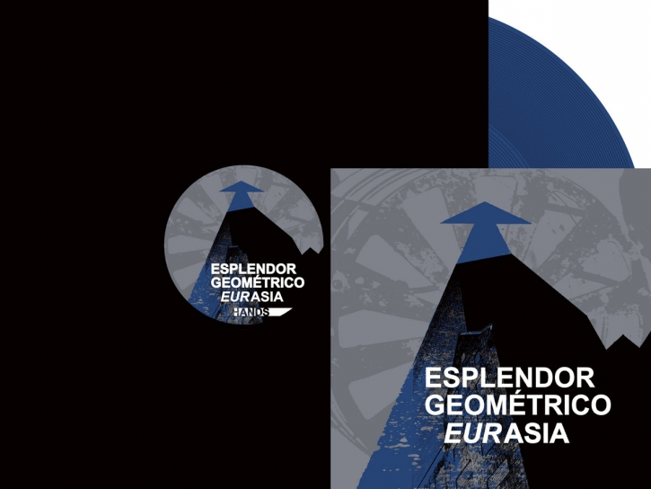 "ESPLENDOR GEOMETRICO Eurasia LIMITED 12"" BLUE VINYL 2021"