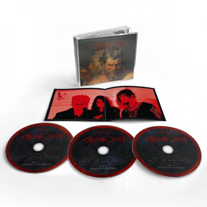 CHRISTIAN DEATH The Dark Age Renaissance Collection Part 4: The New Dark Age 3CD BOX 2021