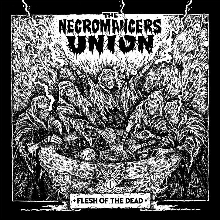 THE NECROMANCERS UNION Flesh Of The Dead CD Digipack 2021 (VÖ 19.11)