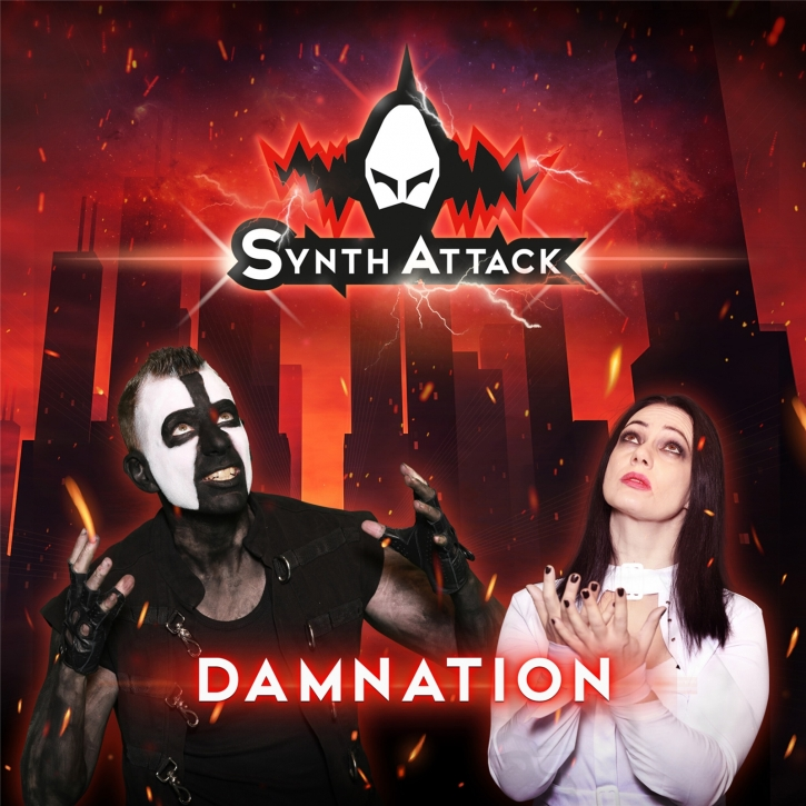 SYNTHATTACK Damnation LIMITED CD Digipack 2021