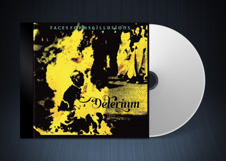 DELERIUM Faces, Forms and Illusions CD 2022 (VÖ 04.03)