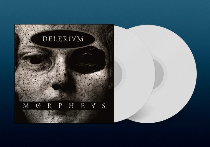 DELERIUM Morpheus LIMITED 2LP WHITE VINYL 2022 (VÖ 04.03)