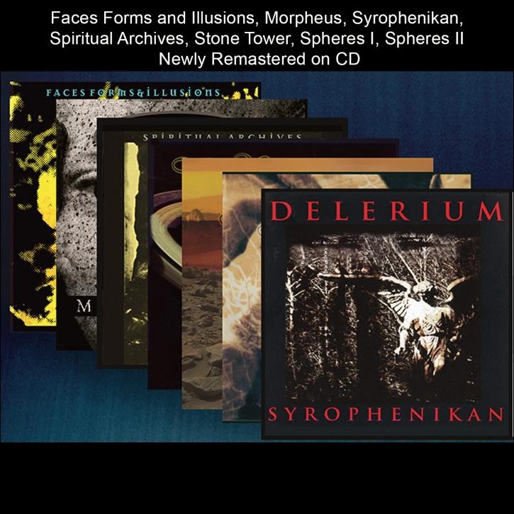 DELERIUM Bundled: Remastered 7x CD 2022 (VÖ 04.03)