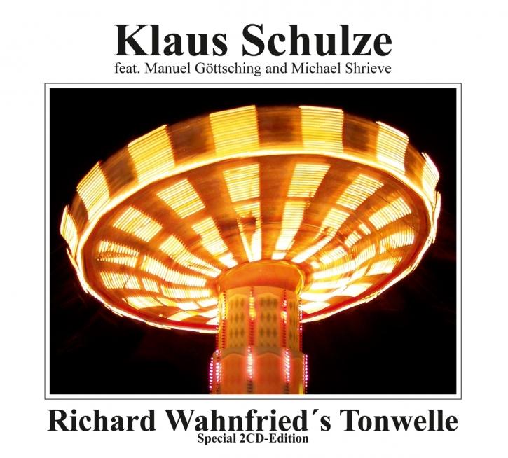 KLAUS SCHULZE Richard Wahnfried's Tonwelle 2CD Digipack 2021
