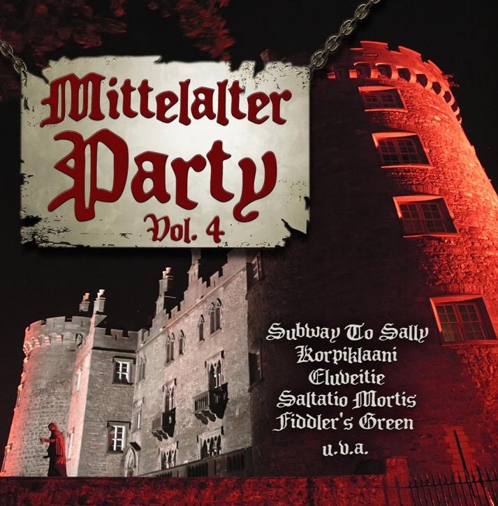 Pro Bestellung kann nur ein Gratisartikel eingelöst werden! MITTELALTER PARTY VOL.4 IV CD Tanzwut SALTATIO MORTIS Subway To Sally SAOR PATROL